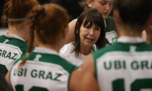 Vanessa Ellis trainiert seit dieser Saison UBI Graz