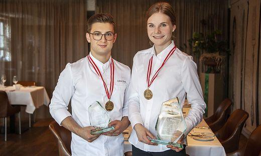 Lukas Prem und Nina Ackerl