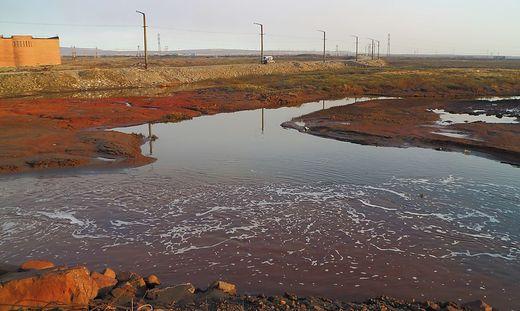 """Hinter den Sperren seien """"hohe Konzentrationen von Petroleumprodukten"""" nachgewiesen worden"""