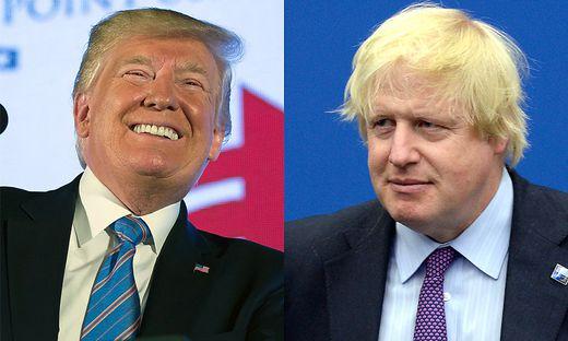 Trump und Johnson - echte oder falsche Freunde?