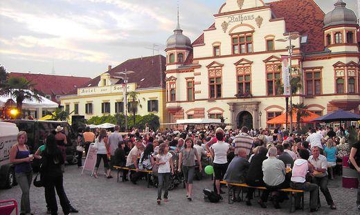 Stadtfest auf den Hauptplatz