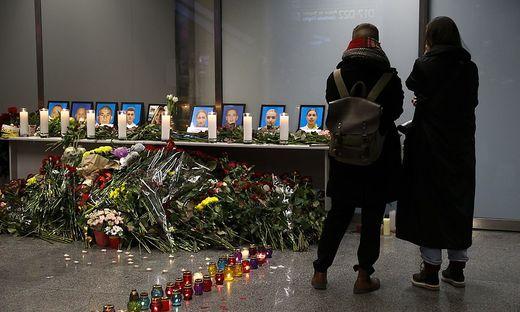 Trauer in der Ukraine nach dem Flugzeugabsturz im Iran