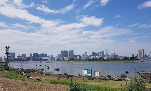 OLYMPISCHE SPIELE IN TOKIO 2020: ODAIBA MARINE BEACH