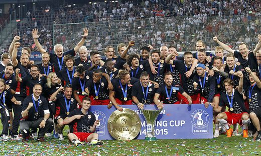 FUSSBALL: OeFB-CUP-FINALE: FK AUSTRIA WIEN - RED BULL SALZBURG
