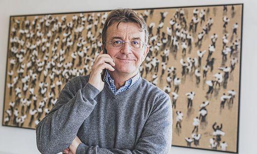 """Hannes Jagerhofer mit Keynote beim diesjährigen - virtuellen - Konjunkturforum: """"Wie Covid Ihr Business v"""