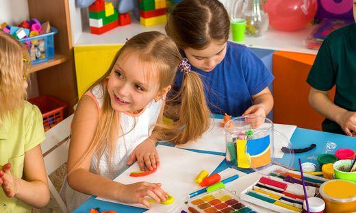 Die höchsten Aufwendungen für die frühkindliche Erziehung gemessen am BIP gibt es in Schweden und Norwegen (je 2,0 Prozent)