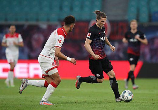 Marcel Sabitzer hat mit Leipzig noch alle Chancen auf den Vizemeistertitel
