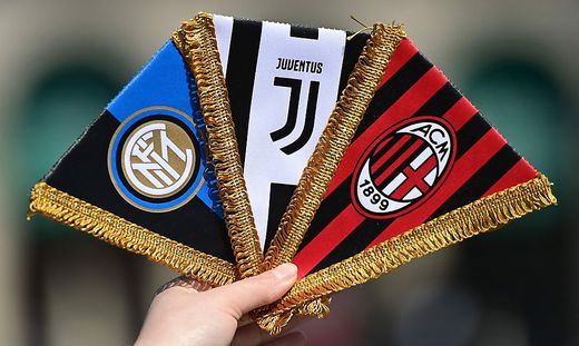 Waren an den Gründungsplänen der Super League beteiligt: Inter Mailand, Juventus und AC Mailand