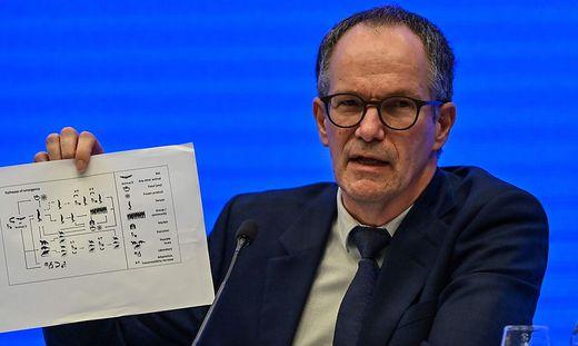 Der dänische Wissenschaftler Peter Ben Embarek