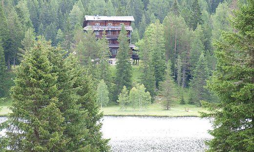 """Der Prebersee ist ein beliebtes Ausflugsziel für viele Obersteirer. Dietrich Mateschitz lässt dort das seit Langem leerstehende """"Hotel am Preber"""" revitalisieren"""