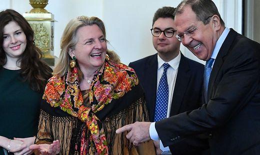 Kneissl: Hatte ''wirklichen Austausch'' mit Putin und Lawrow