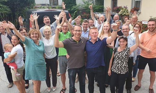 Jubelstimmung bei der ÖVP in Lieboch