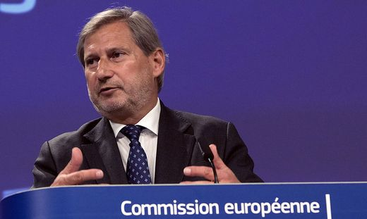 EU-Budgetkommissar Johannes Hahn