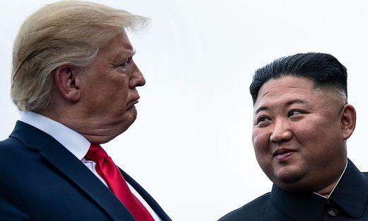 Trump und Kim Jong-un im Juni 2019