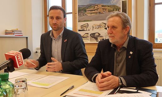 Jochen Jance (l.) und Hannes Koudelka sind seit 2015 am Ruder