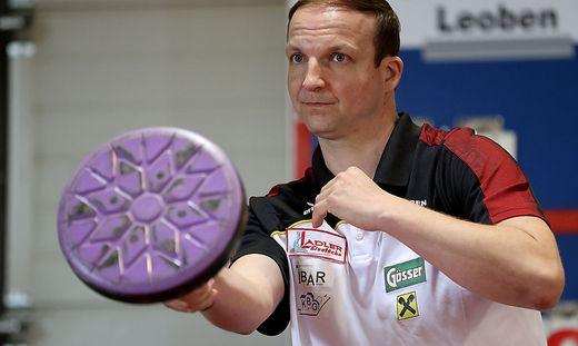 Michael Brantner ist BÖE-Generalsekretär und spielt für Tal Leoben