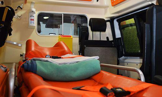 Drei Verletzte mussten mit der Rettung ins LKH Villach gebracht werden