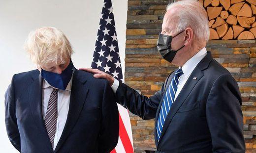 Boris Johnson und Joe Biden