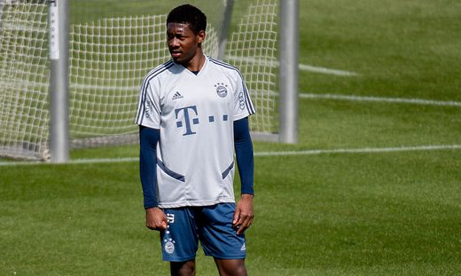 SOCCER - 1. DFL, Training Bayern