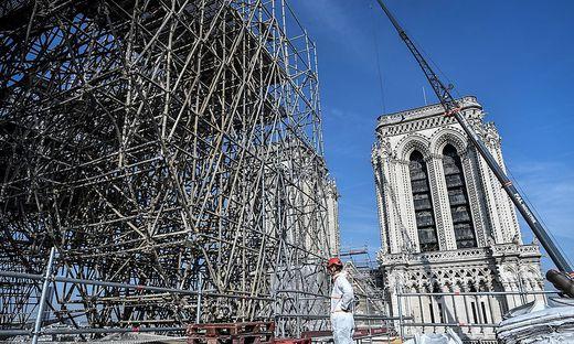 Der Wiederaufbau von Notre-Dame wird lange dauern