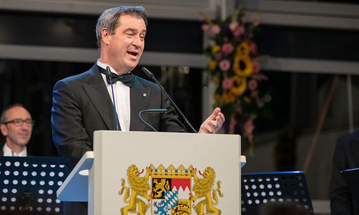 Minsterpräsident Markus Söder