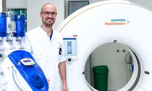 Thomas Kau, Primar der radiologischen Abteilung am LKH Villach
