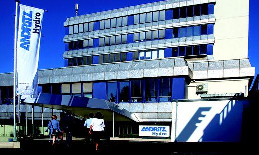 Insgesamt arbeiten in der Firma Andritz Hydro 700 Mitarbeiter
