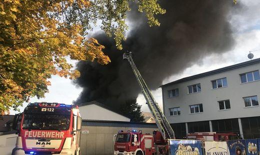 Der Großbrand in Villach wurde durch Brandstiftung verursacht