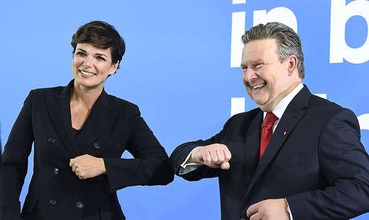 Rendi-Wagner und Ludwig: Freundschaft oder Ellbogentechnik?