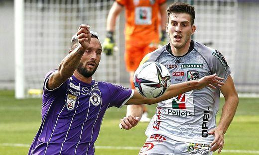 FUSSBALL ADMIRAL-BUNDESLIGA / 1. RUNDE: SK AUSTRIA KLAGENFURT - RZ PELLETS WAC