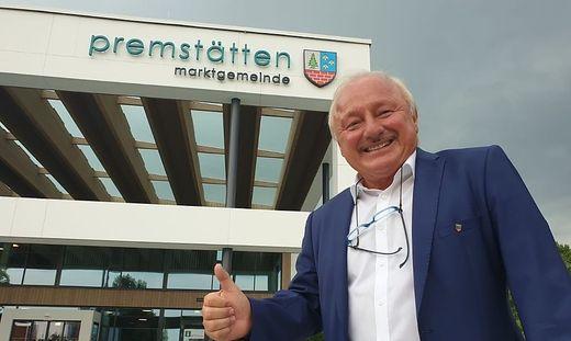"Anton ""Burli"" Scherbinek feiert 58 Prozent in Premstätten"