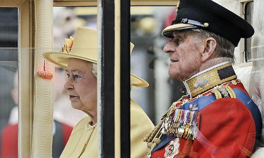 Der Herzog von Edinburgh, so sein offizieller Titel, war seit 1947 mit Elizabeth verheiratet