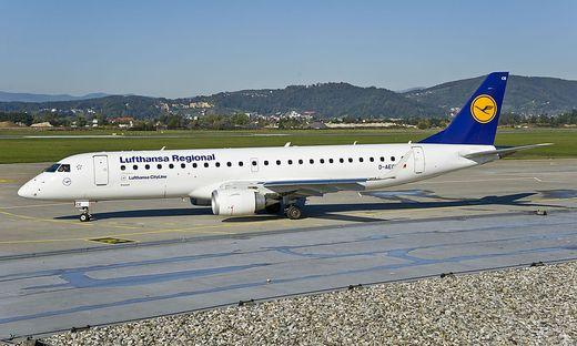 Die Lufthansa hat bisher schon die Strecke Graz-München bedient
