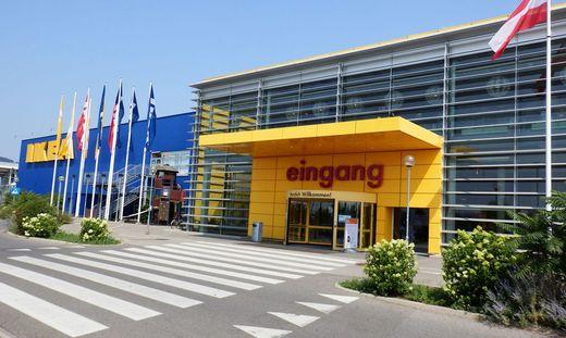 Der Ikea-Standort in Graz