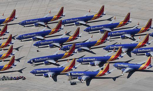 Flugzeuge des Typs 737 Max 8 bleiben weiterhin am Boden