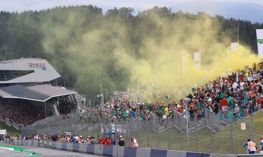 Die Rossi-Fans ließen es krachen