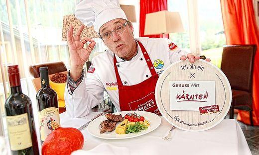 Jürgen Bockenfeld ist Kärntner Genuss Wirt