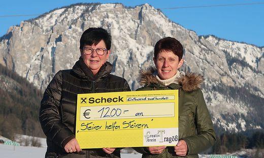Christa Mayerhofer und Elke Hauser