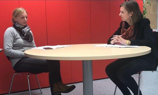 Bettina Kuzmicki und Barbara Kahr von der Kleinen Zeitung Leibnitz und  Deutschlandsberg