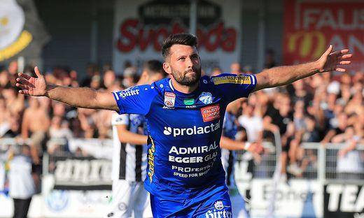 Dario Tadic traf vom Elfmeterpunkt aus