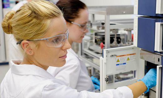 Labor von Microinnova