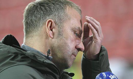 Bayern-Trainer Hans Flick hat einige Sorgen