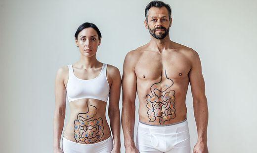 Reidarm und Stuhltransplantation