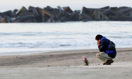 Japan gedenkt der Opfer der Tsunami- Katastrophe 2011