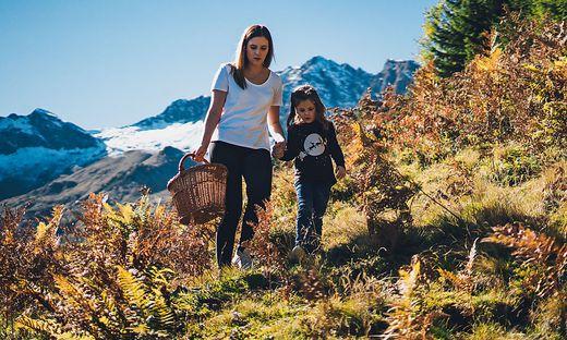 Herbsturlaub auf Kaerntens Bauernhoefe und Almen -