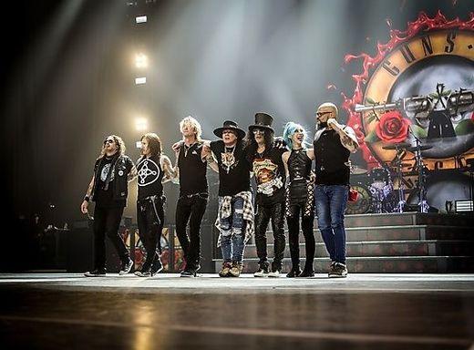 Guns N' Roses spielen 2020 Konzerte in München, Hamburg, Bern und Wien