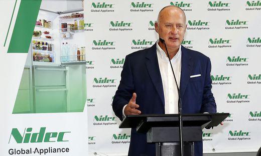 Eroeffnungsfeier von Nidec Global Appliance Austria
