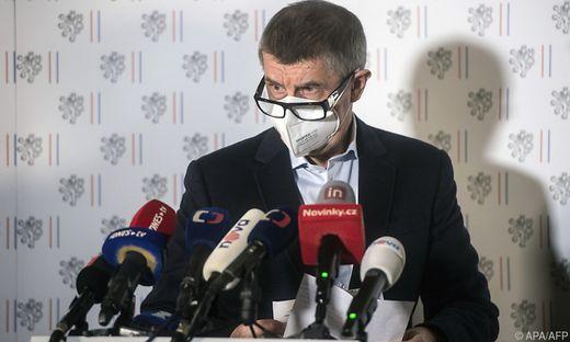 Ministerpräsident Andrej Babis