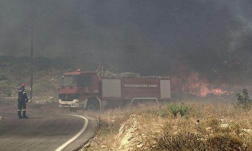 Auf Elafonissos werden  Erinnerungen an die Brandkatrastrophe bei Mati von 2018 wach