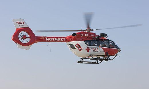 Der Schwerverletzte wurde ins LKH Villach geflogen